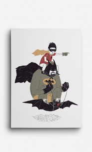 Canvas Batman et Robin