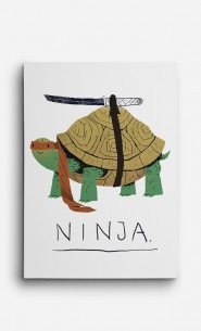Canvas Ninja Turtle