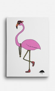 Canvas Frederick the Flamingo