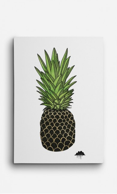Canvas Pineapple Paul