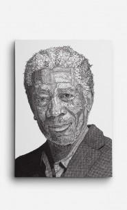 Canvas Morgan Freeman