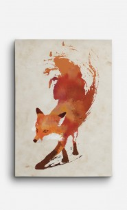 Canvas Vulpes Vulpes