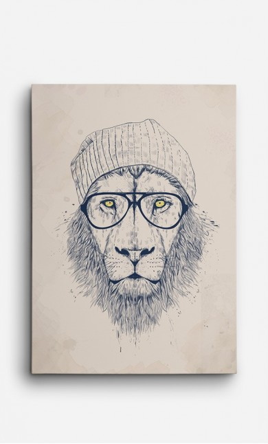 Canvas Cool Lion
