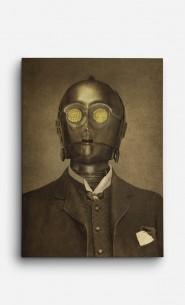 Canvas Baron Von C3PO