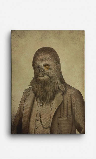 Canvas Chancellor Chewie