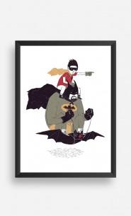 Frame Batman et Robin
