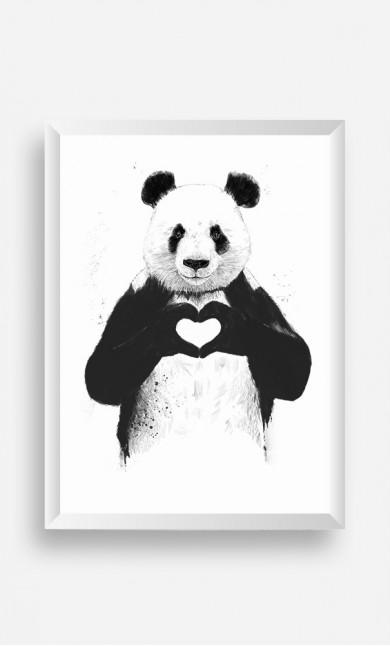 Frame Love Panda