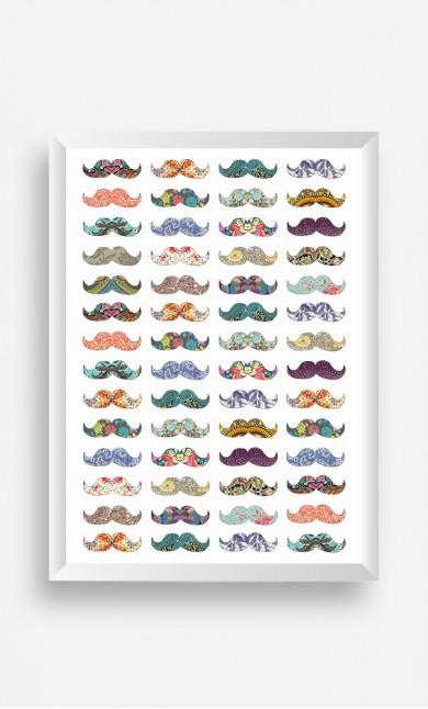 Frame Moustache Mania
