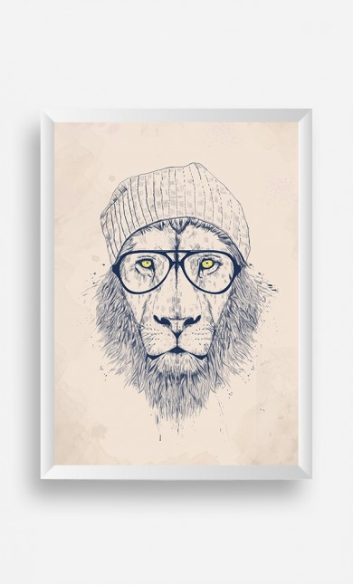 Frame Cool Lion