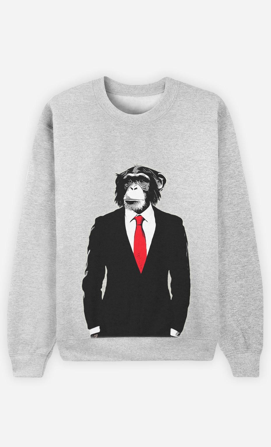 Sweatshirt Business Monkey