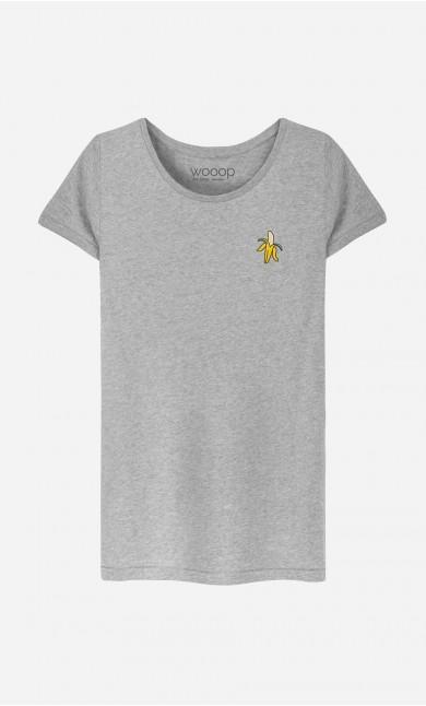 T-Shirt Banana - embroidered