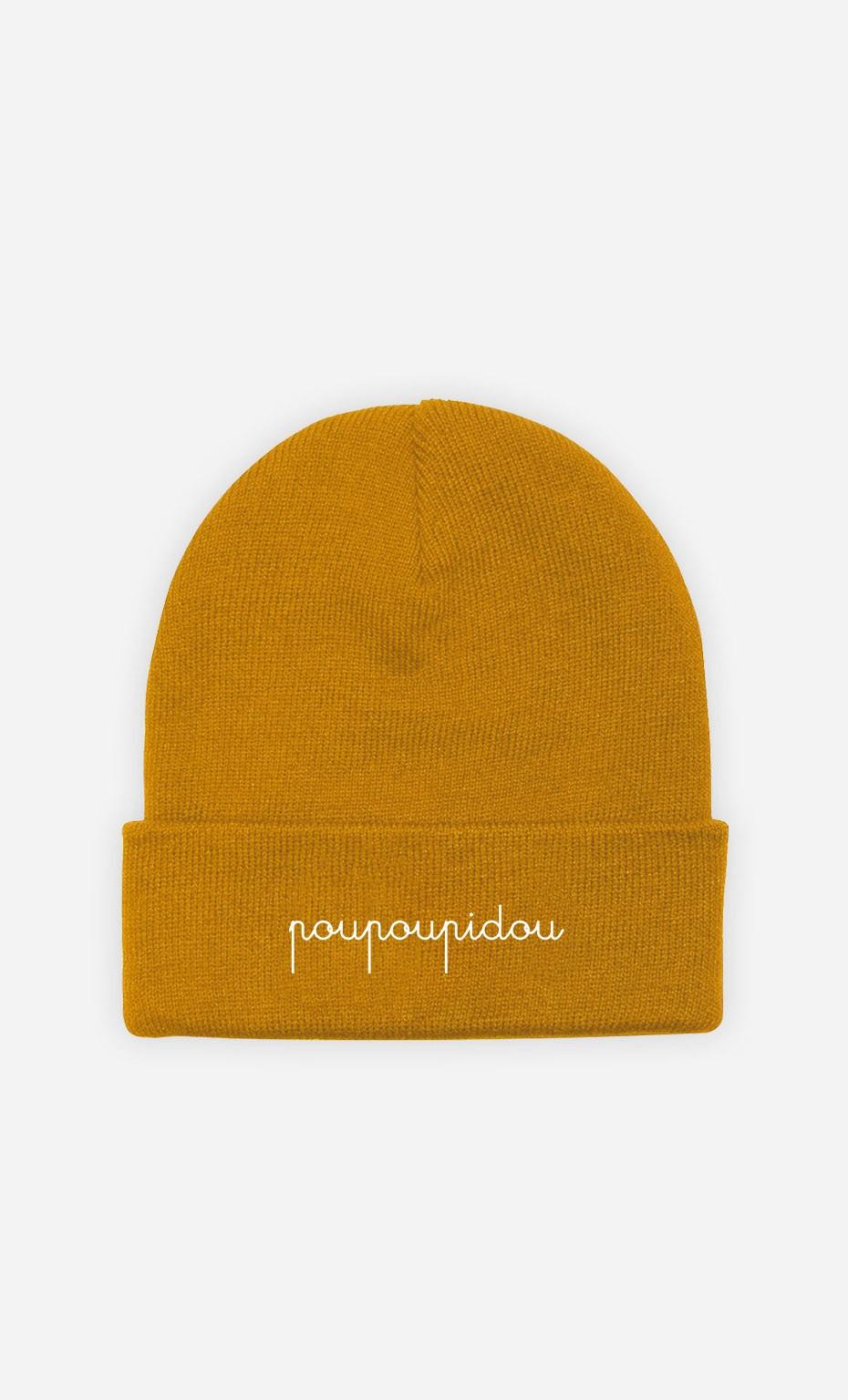 Beanie Poupoupidou - embroidered