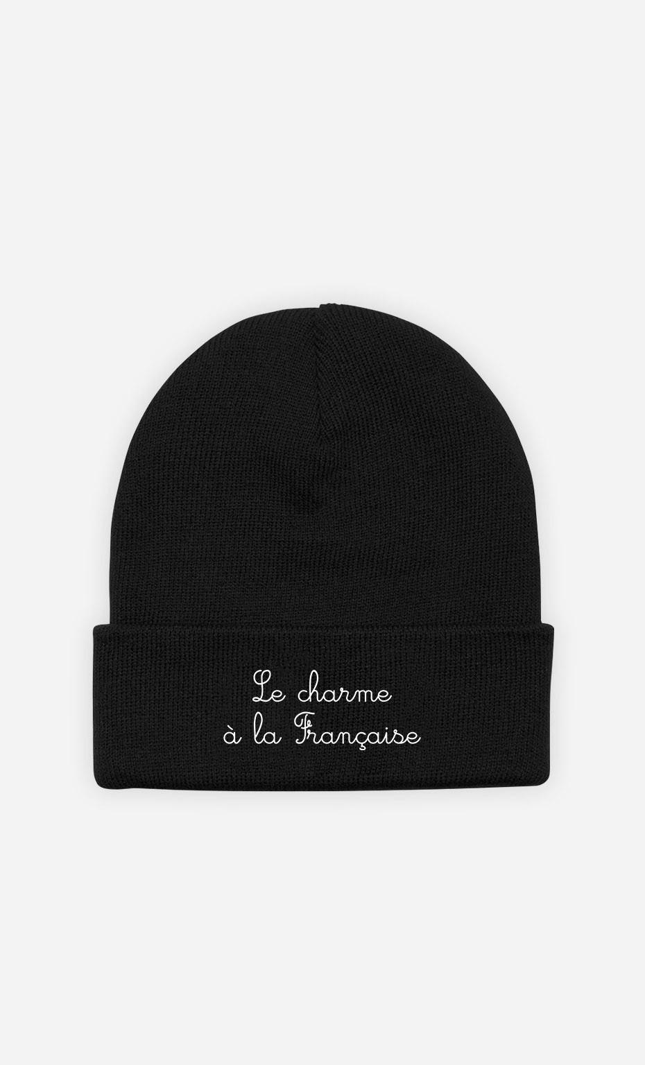 Beanie Le Charme à la Française - embroidered