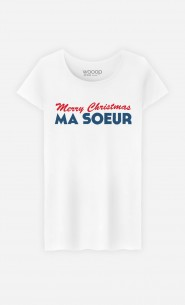 T-Shirt Merry Christmas ma Sœur