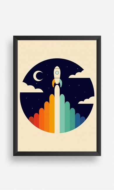 Frame Rainbow Space