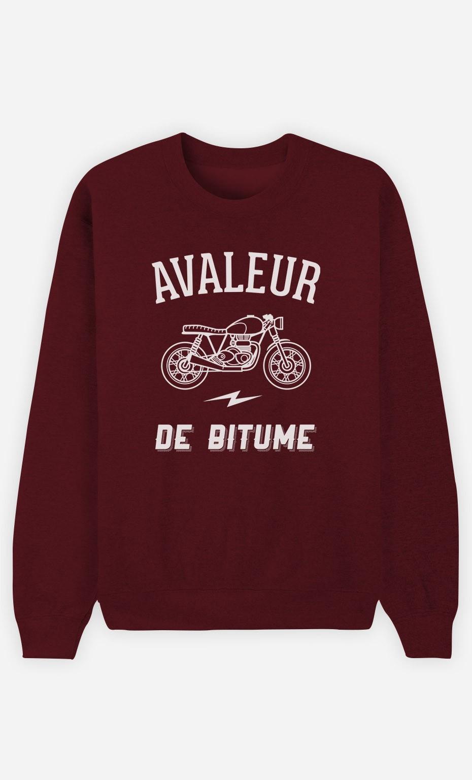 Sweat Bordeaux Avaleur De Bitume
