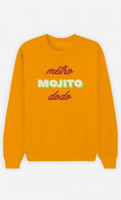 Sweat Moutarde Métro Mojito Dodo