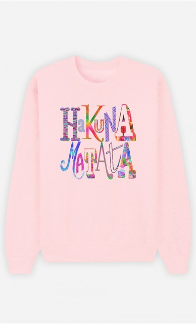 Sweat Rose Hakuna Matata Color