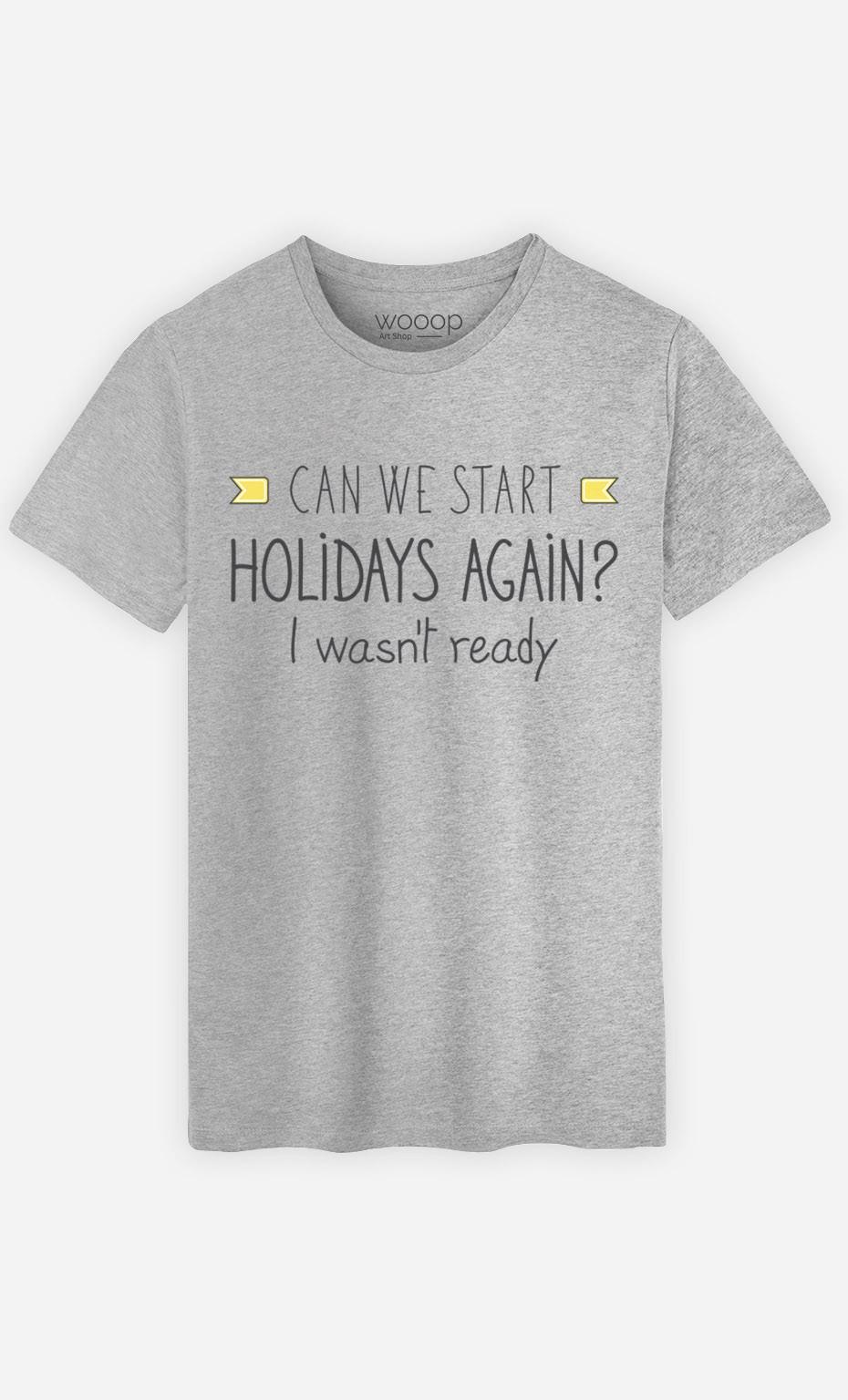 T-Shirt I Wasn't Ready