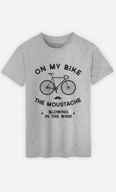 T-Shirt The Moustache Blowing