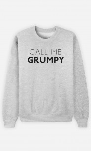Sweatshirt Call Me Grumpy