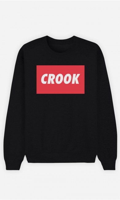 Black Sweatshirt Crook