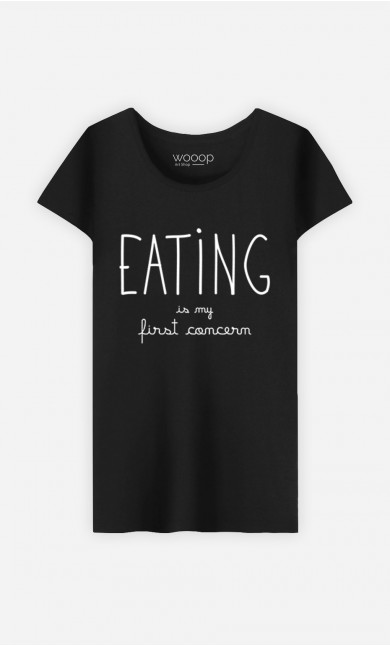 T-Shirt Eating is My First Concern