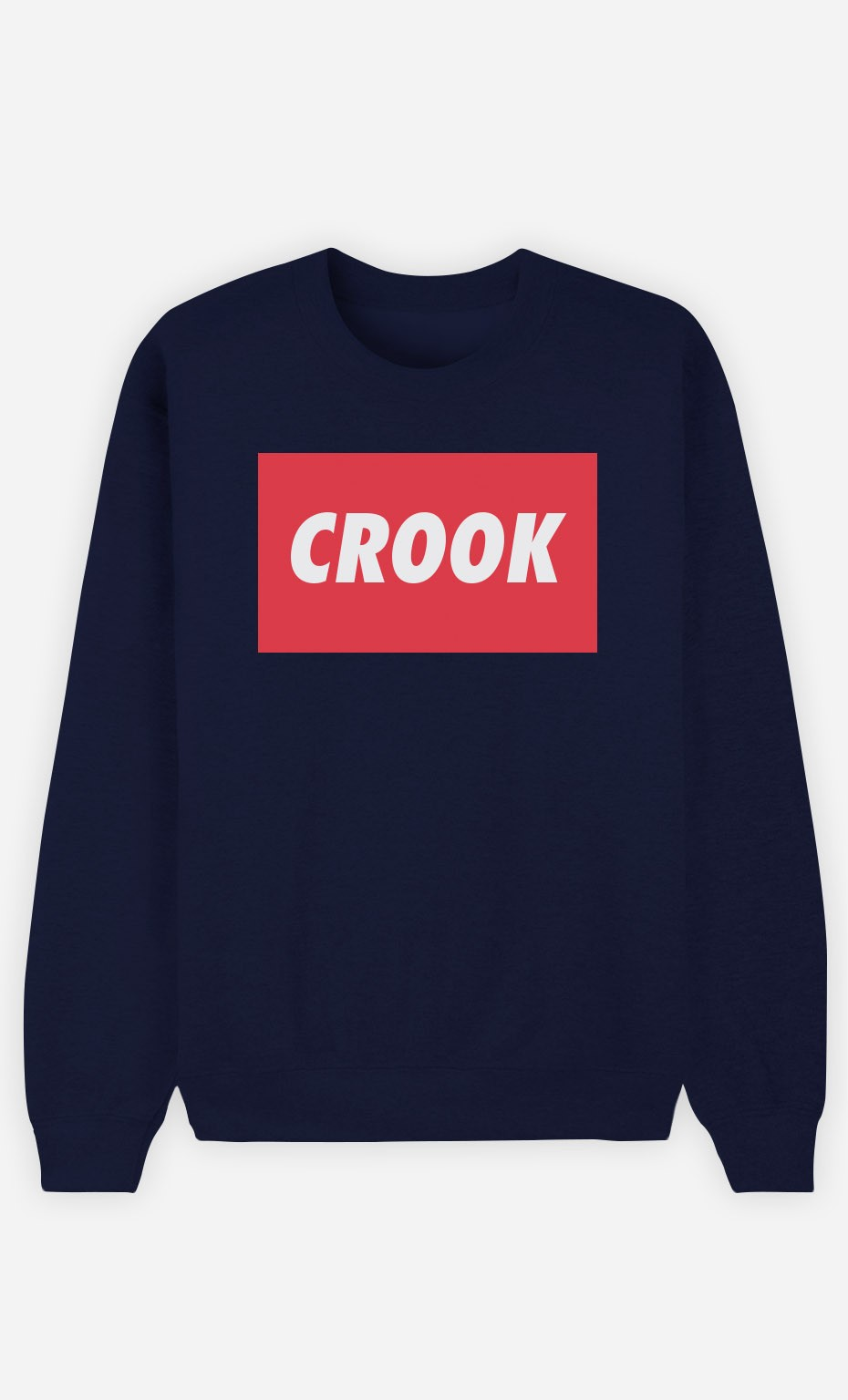 Blue Sweatshirt Crook