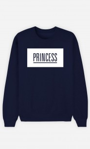 Blue Sweatshirt Princess