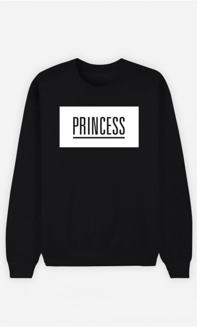 Black Sweatshirt Princess