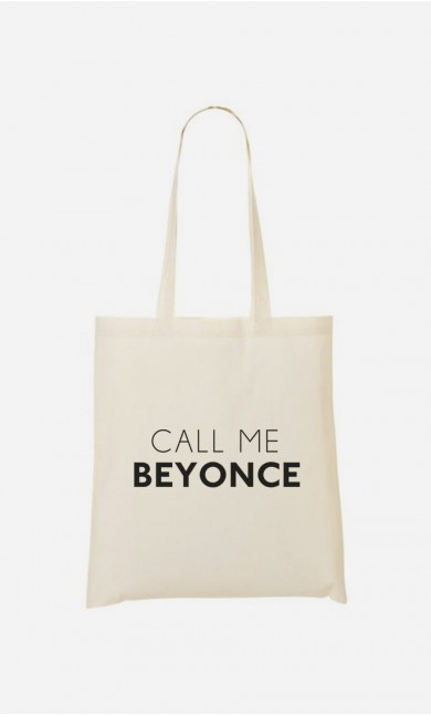 Tote Bag Call Me Beyonce