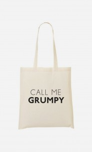 Tote Bag Call Me Grumpy