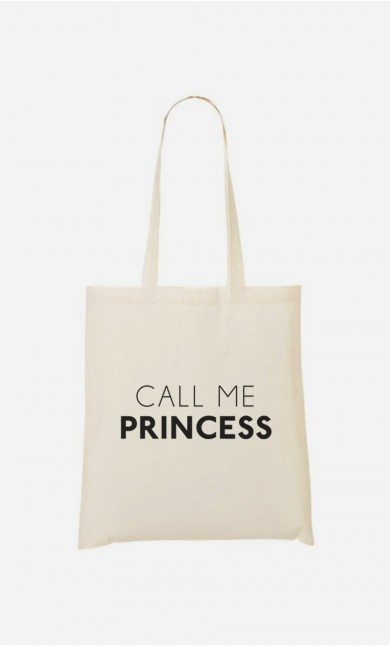 Tote Bag Call Me Princess