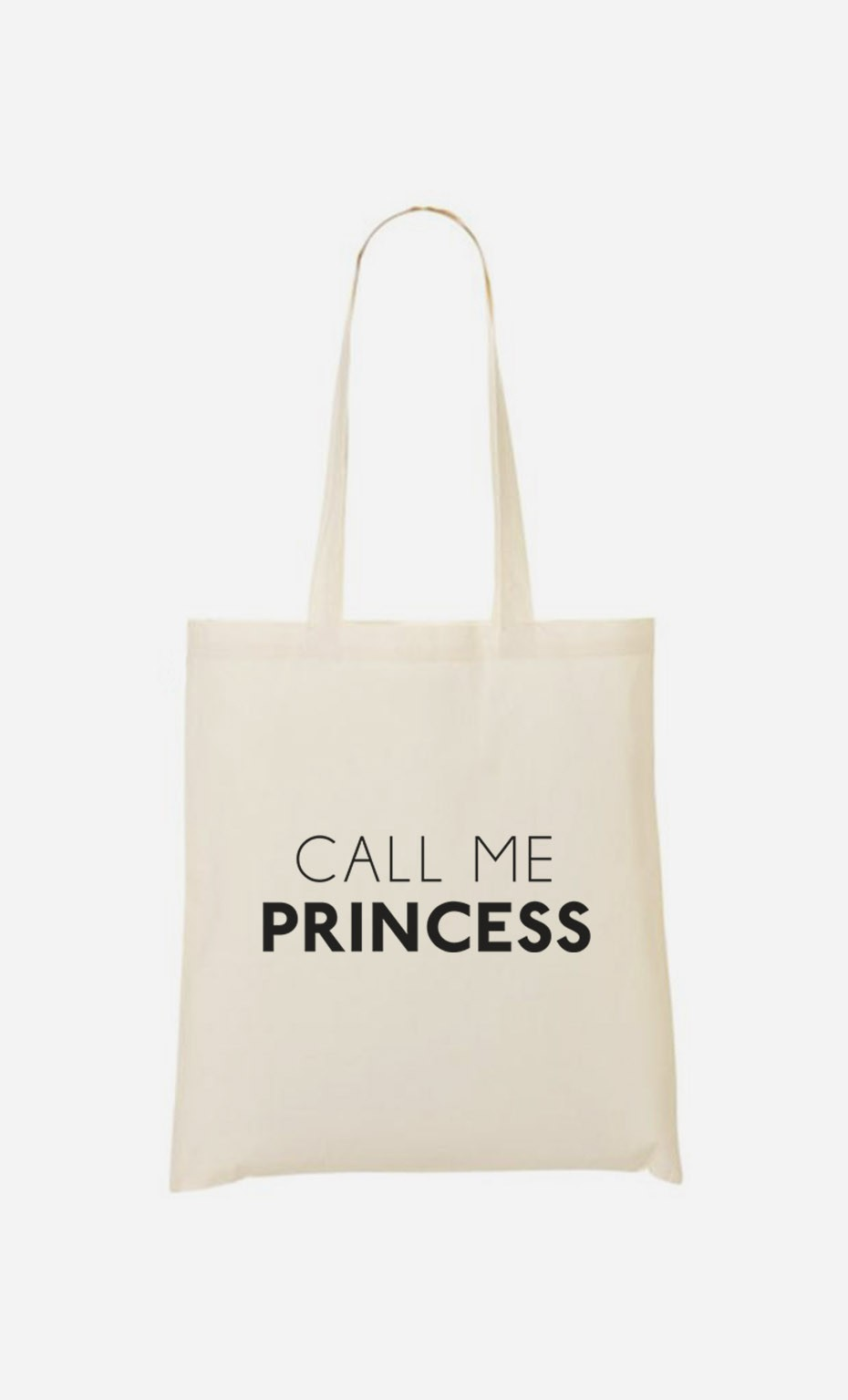 Tote Bag Call Me Princess