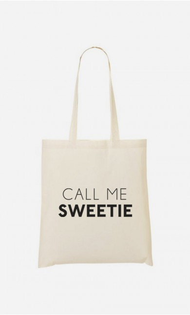 Tote Bag Call Me Sweetie