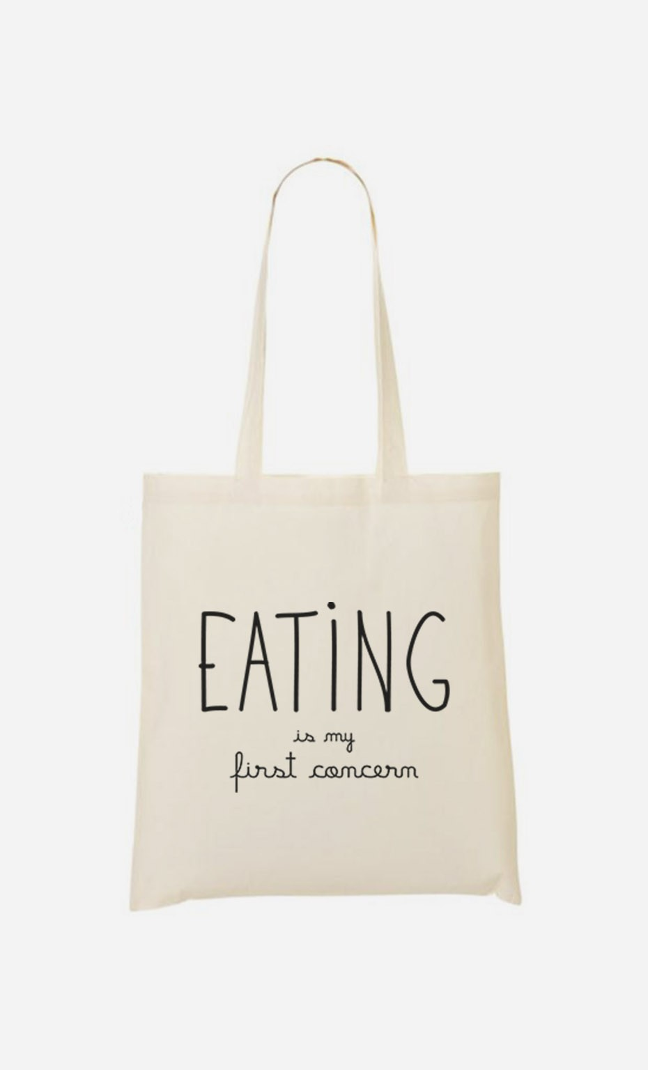 Tote Bag Eating is My First Concern