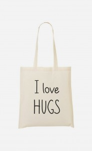 Tote Bag I love hugs