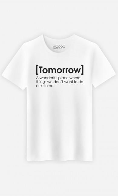 T-Shirt Tomorrow Definition