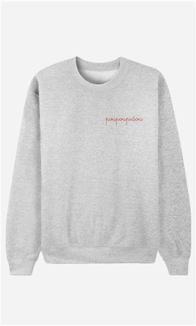 Sweatshirt Poupoupidou - embroidered