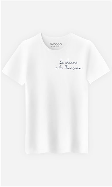 T-Shirt Le Charme A La Française - embroidered