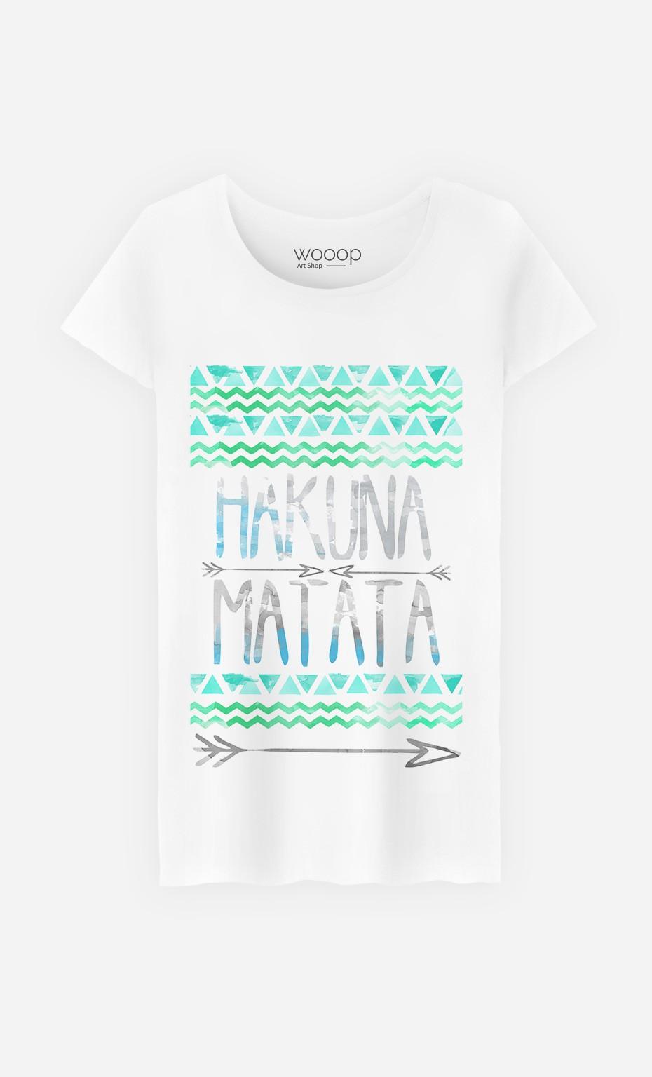 555d40d7 T-Shirt Hakuna Matata - Art Shop - Wooop.com