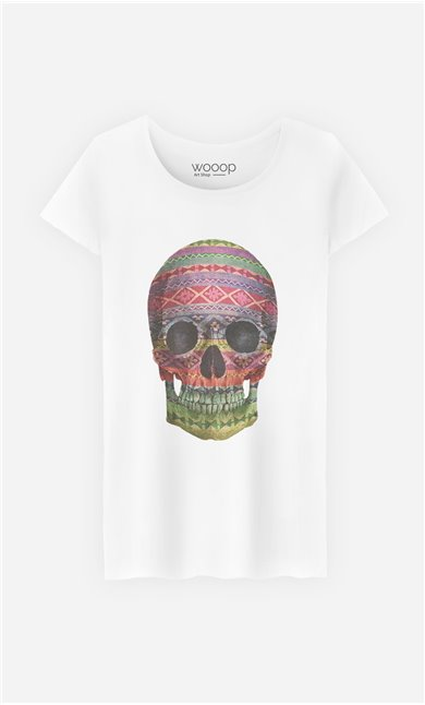 T-Shirt Navajo Skull