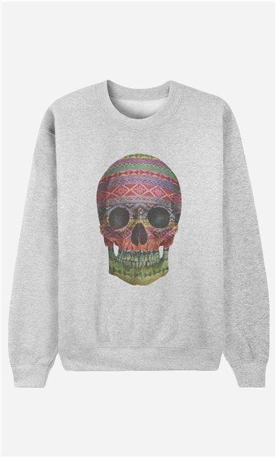 Sweatshirt Navajo Skull