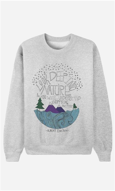 Sweatshirt Deep Into Nature