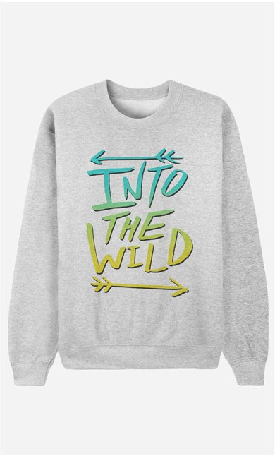 Sweatshirt Into The Wild