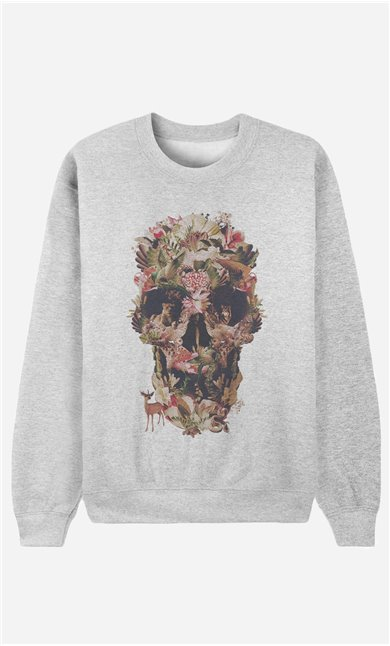Sweatshirt Jungle Skull