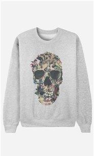 Sweatshirt Vintage Skull
