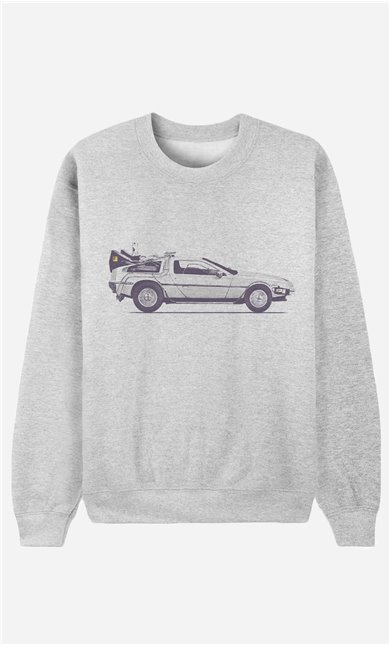 Sweatshirt Delorean
