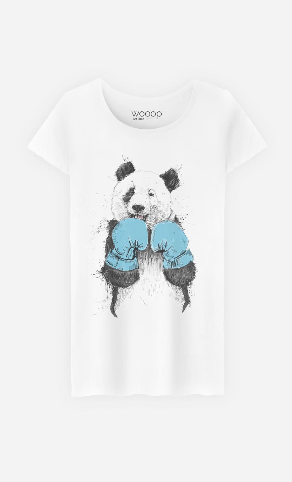 T-Shirt The Winner Panda