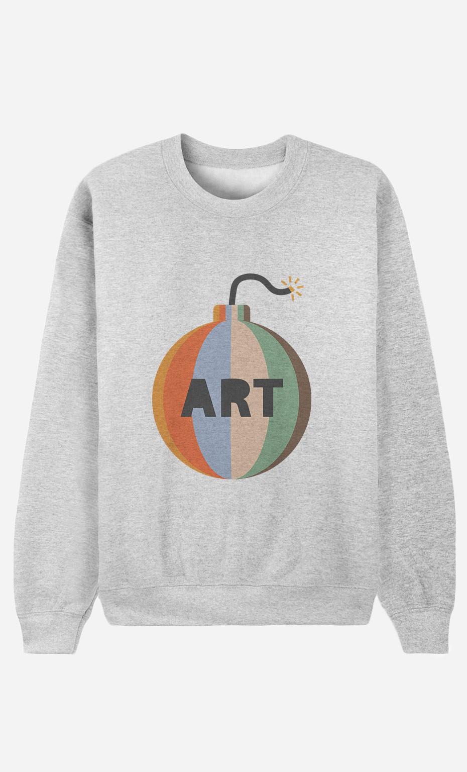 Sweatshirt Art Bomb
